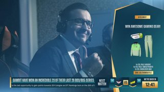 LIVE: Gambit vs. G2 Esports - DreamHack Masters Spring 2021 - Semifinals