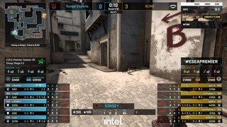 LIVE: BLINK vs Sangal - ESEA Premier S38 - Group A