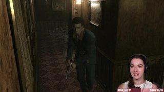 Highlight: Resident Evil Zero 1st Playthrough Giant Scorpion Fight