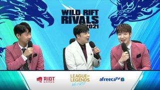2021 Wild Rift Rivals: LCK vs. LPL Invitational l LCK vs. LPL l Legends Match
