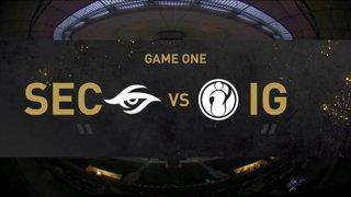 [EN] Invictus Gaming  - Team Secret - Dota 2 The International 2021 - Main Event  Day 3 - Game 1