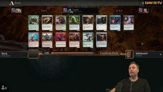 Simic Ramp (again) - AFR Draft Climb to Mythic | MTG Arena