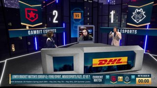 LIVE: Gambit vs. Fiend - DreamHack Masters Spring 2021 - Group A