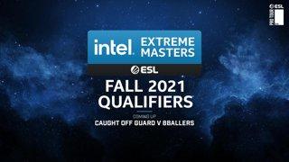 LIVE: 8ballers v Ground Zero - Semifinals - IEM Open Qualifier #1 - Oceania