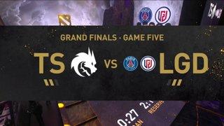 [EN] PSG.LGD - Team Spirit   - Dota 2 The International 2021 - Main Event  Day 6 - Game 5