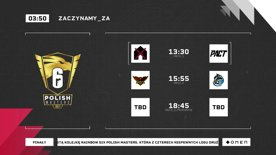 [PL] Rainbow Six Polish Masters 2021 - Finały - Dzień 1