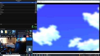 Long stream of Super Mario 64 speedrunning 12-Oct-21