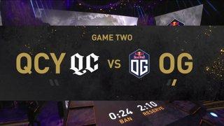 [EN] OG  - Quincy Crew - Dota 2 The International 2021 - Main Event  Day 2 - Game 2