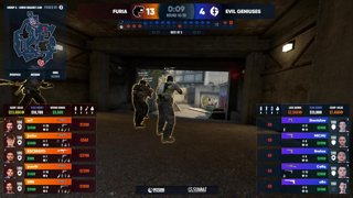 RERUN: Evil Geniuses vs FURIA (Overpass) - cs_summit 8 Group Stage: Elimination Match - Game 1