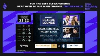 Week 8 Day 3 | LCS Summer Split (2021)