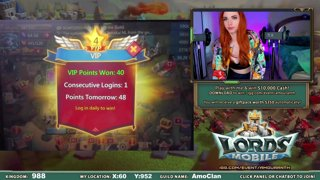 Lords Mobile 3rd Stream