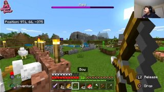 The Wizard and his Angels Battle The Bonnet Gamer (N_Gimmie; Minecraft)