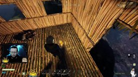 This is your house now bear! WOLF! AAAH #swappinghouse #survival #icarus