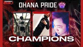 Highlight: OHANA PRIDE IS YOUR DODGE RIVALS SEASON 2 APEX ARENAS CHAMPION!