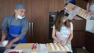 making sushi with pro chef @chefmaezaki :D