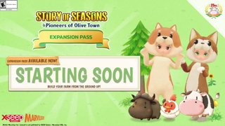 Story of Seasons: Olive Town #ad (May 3rd 2021)