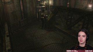 Highlight: Resident Evil Zero 1st Playthrough Rebecca Proto Tyrant Fight