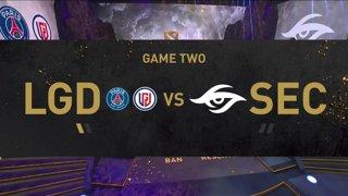 [EN] Team Secret - PSG.LGD - Dota 2 The International 2021 - Main Event  Day 5 - Game 2