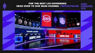 100 Thieves vs. Team Liquid | Playoffs Round 3 | LCS Summer Split