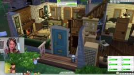 LIVE mode! SimGuruJill concludes the story #SimTogether #CottageLiving