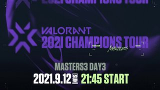 VCT Stage 3 - MASTERS BERLIN Day 3