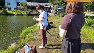 Highlight: [JP/EN] Japan Sapporo, Fishing with family