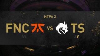 [RU] Team Spirit  - Fnatic - Dota 2 The International 2021 - Main Event  Day 2 - Game 2