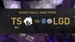 [EN] PSG.LGD - Team Spirit   - Dota 2 The International 2021 - Main Event  Day 6 - Game 3