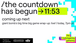 Giant Bomb's Big Time Big Game Wrap-Up: Live!