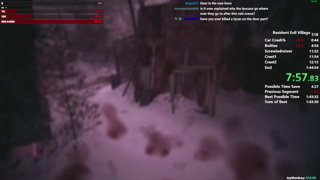 RE8 Village of Shadows Speedrun in 1:44:25 (WR/Glitchless)