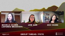 GROUP THREAD: IYKYK Michelle Zauner (Japanese Breakfast) and Jezz Chung