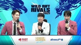 2021 Wild Rift Rivals: LCK vs. LPL Invitational l KT vs. BLG l Round 3