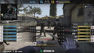 LIVE: BLINK vs forZe | ESEA Premier | Season 37