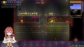 GOD GAMER RETURNS TO DESTROY THE CLOWN   Terraria PERMADEATH