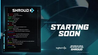 LOTS of games to play |  Follow @shroud on socials