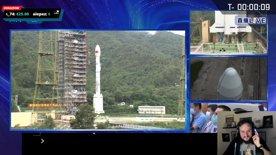 Countdown  Lancio spaziale Cinese - Lunga Marcia 3B/E con sat BeiDou G3