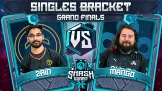 Zain vs Mang0 - Singles Bracket: GRAND FINALS - Smash Summit 10 | Marth vs Falco