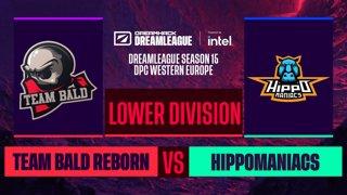 Dota2 - Team Bald Reborn vs. Hippomaniacs - Game 1 - DreamLeague S15 DPC WEU - Lower Division