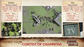 Middle-earth™ Strategy Battle Game Throne of Skulls 2019, Game 1: Thorin's Company vs Azog's Hunters