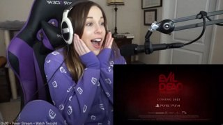 Spinachee's live reaction to Evil Dead Game announcement