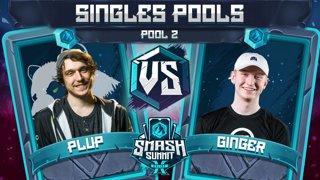 Plup vs Ginger - Singles Pools: Pool 2 - Smash Summit 10 | Fox vs Falco