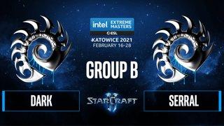 SC2 - Dark vs. Serral - IEM Katowice 2021 - Group B