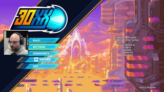 Checking out procedurally generated Mega Man X-style game (30XX)