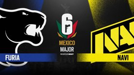 Natus Vincere vs. FURIA // Six Major Mexico - group stage - day 2