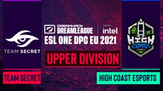 Dota2 - Team Secret vs. High Coast Esports - Game 2 - DreamLeague Season 14 DPC: EU - Upper Division