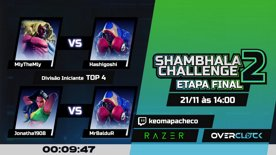 Destaque: Shambhala Challenge 2 - FINAIS - Iniciante & Amador