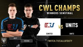 eUnited vs UNITS | CWL Champs 2019 | Day 4
