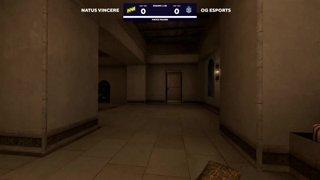Day 2: OG - NAVI - map 1: Mirage
