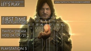 Death Stranding Director's Cut: Launch Day Stream  |PS5|