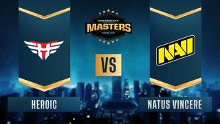 CS:GO - Heroic vs. Natus Vincere [Nuke] Map 2 - DreamHack Masters Spring 2021 - Semifinals